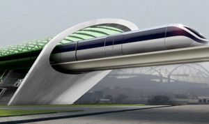 The hyperloop, which we may have in 2020 (!!!)