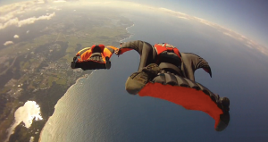 Wingsuit flying, y'all